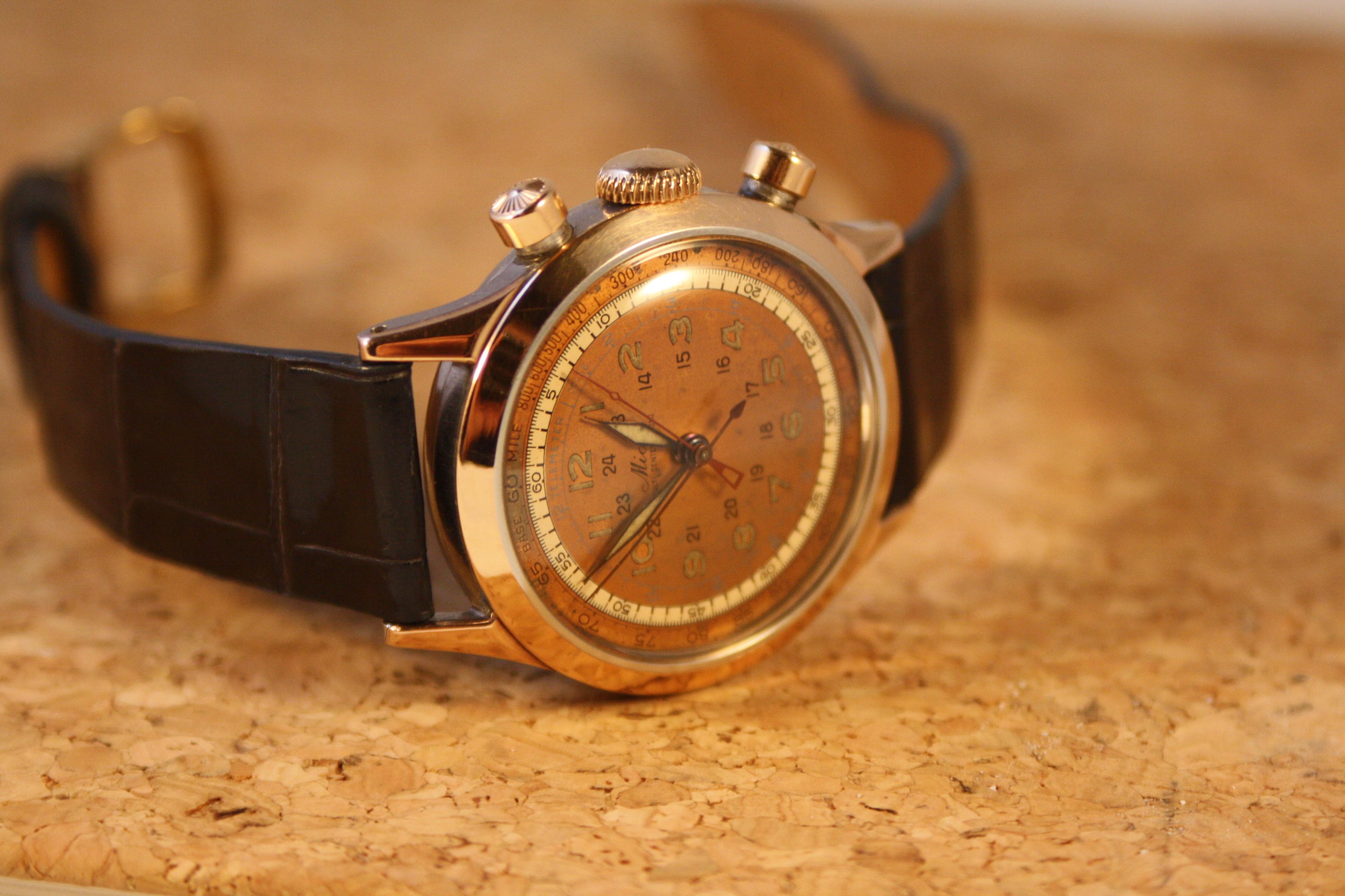 vintage mido horloge
