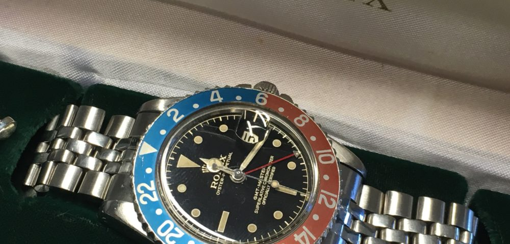 Vintage watches in Amsterdam