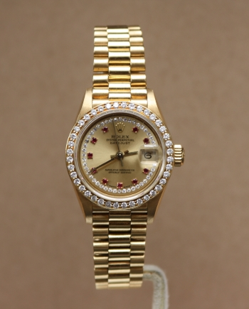 rolex factory diamond dial
