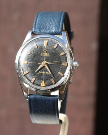 seamster black gilt dial