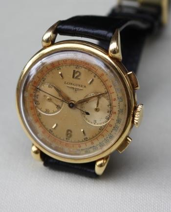 longines flyback chronograph