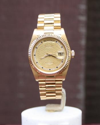 Rolex Myriad dial
