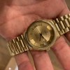 omega seamaster solid gold
