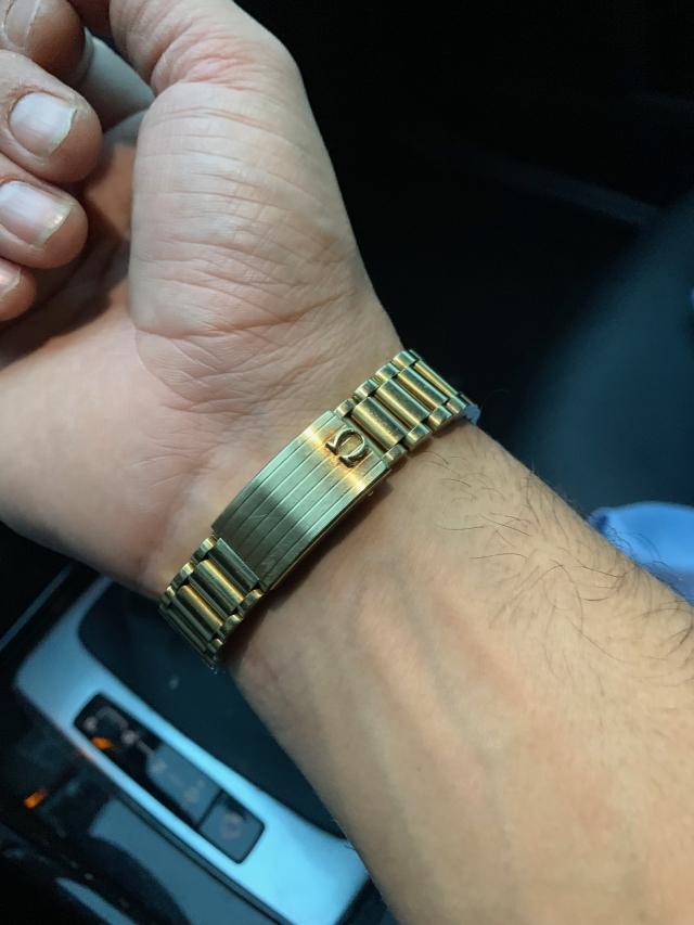 gold seamaster bracelet