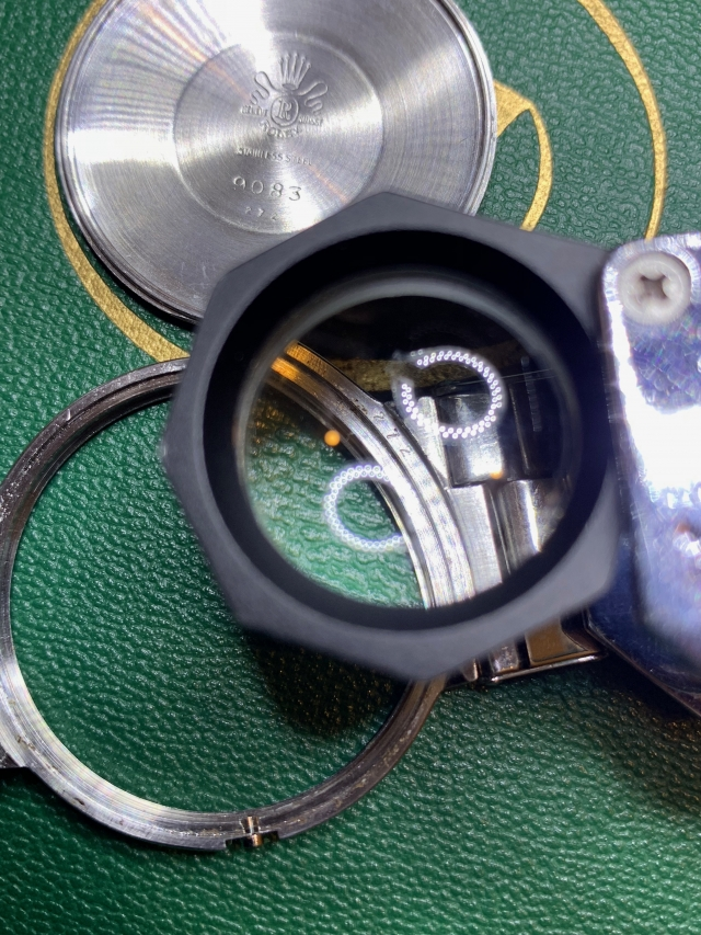 under the loupe
