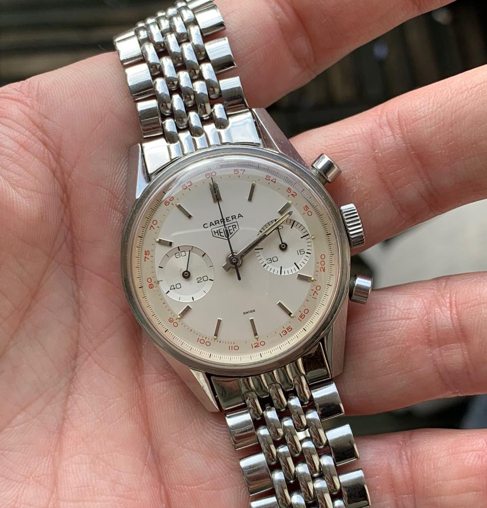 oud heuer horloge verkopen