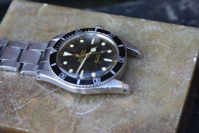 rolex small crown