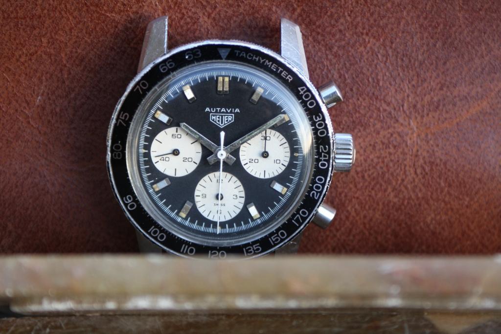 vintage heuer horloge