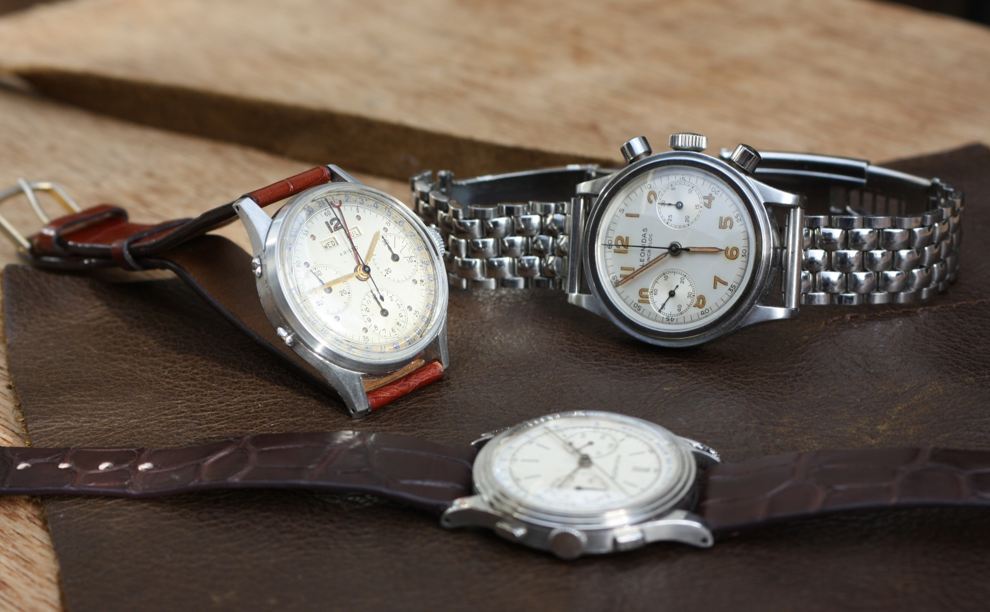 step case chronograph
