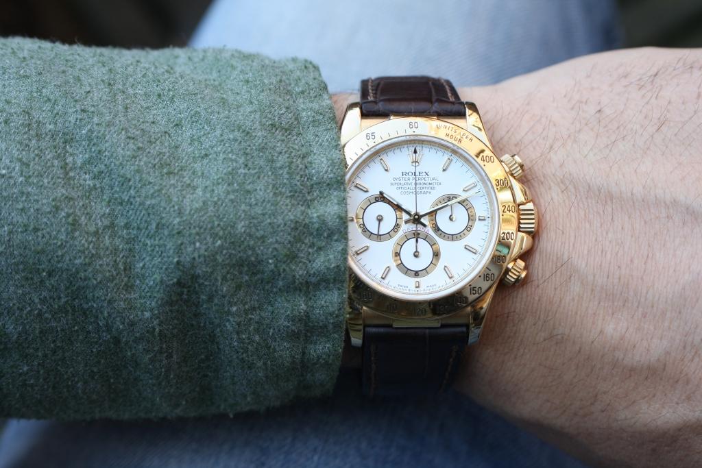 rolex 16518 wrist