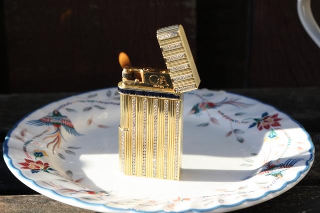 solid gold lighter