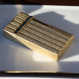 sapphire and diamond lighter