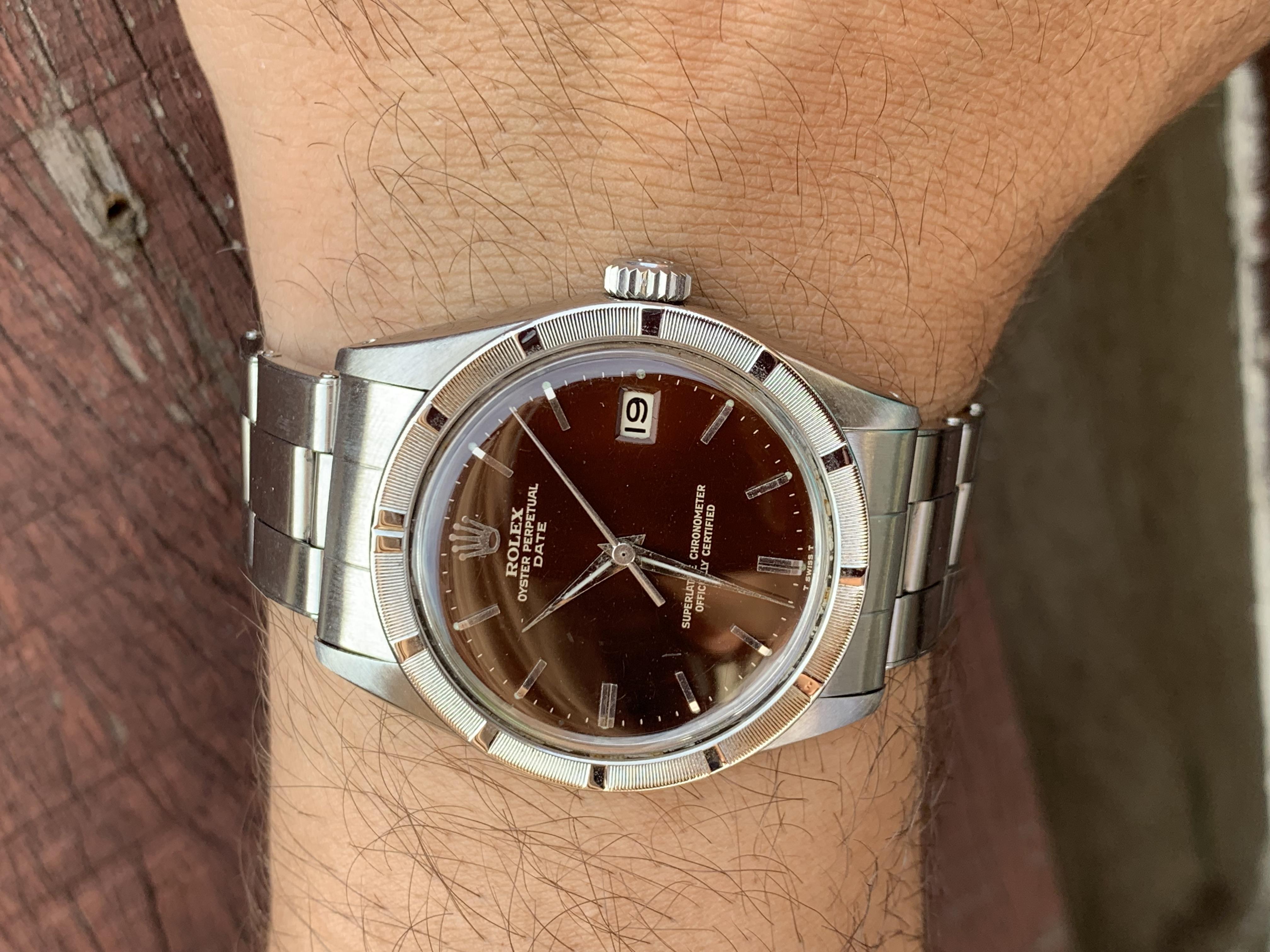 tropical Rolex date