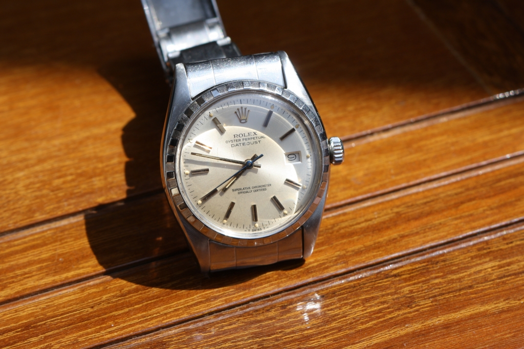 steel rolex datejust