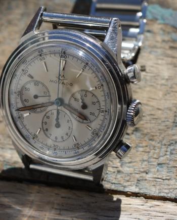 movado steel m95 chronograph