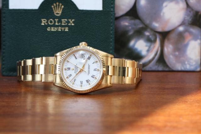 rolex 15238 date full set