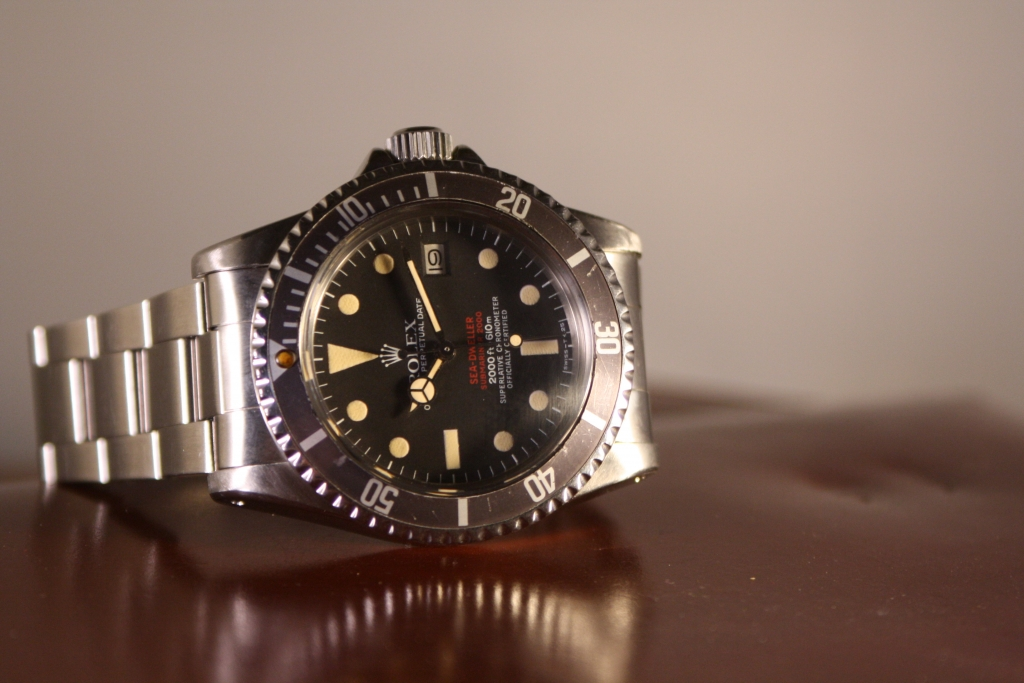 rolex 1665 double Red Sea dweller