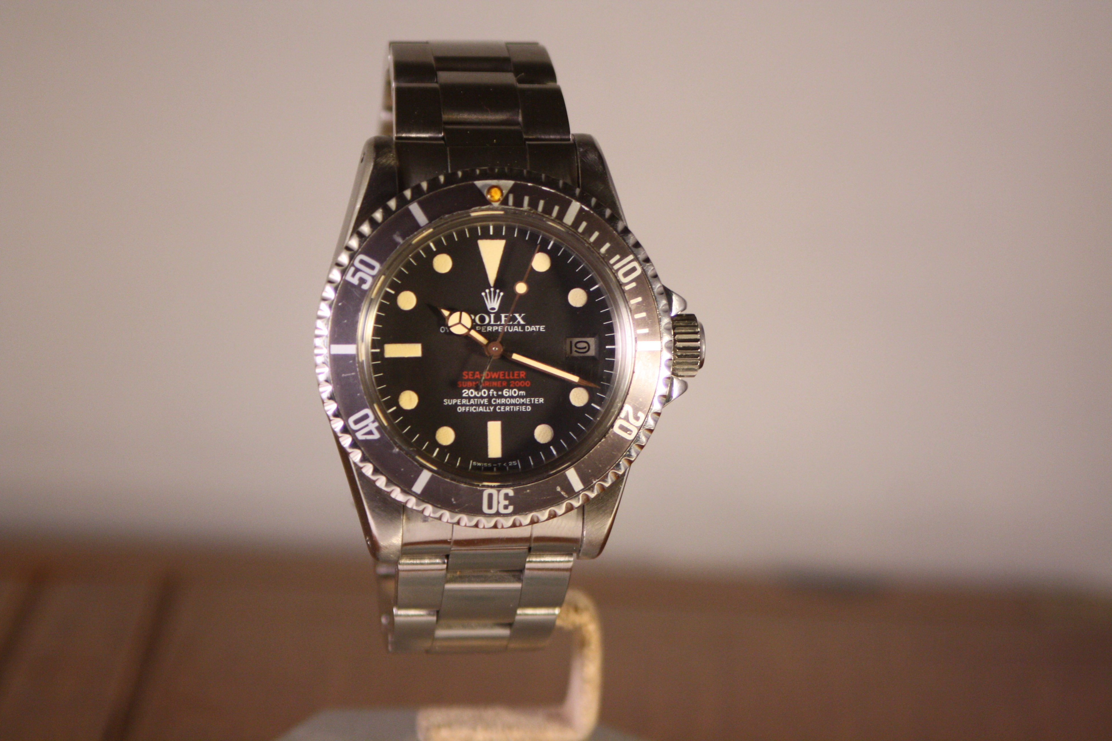 rolex double red 1665