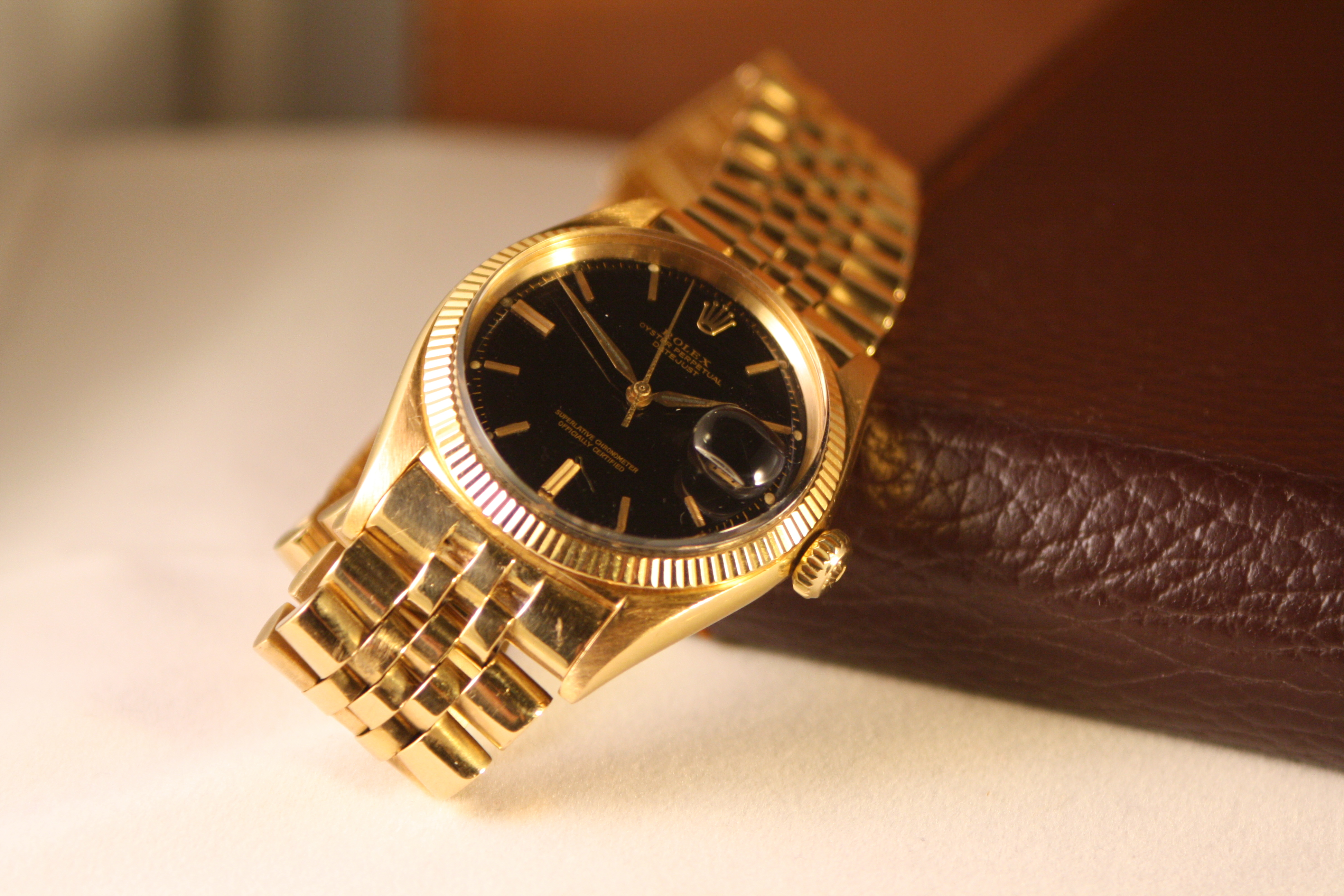rolex gilt datejust