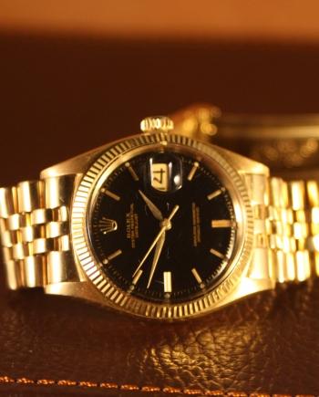 rolex 1601 gilt dial