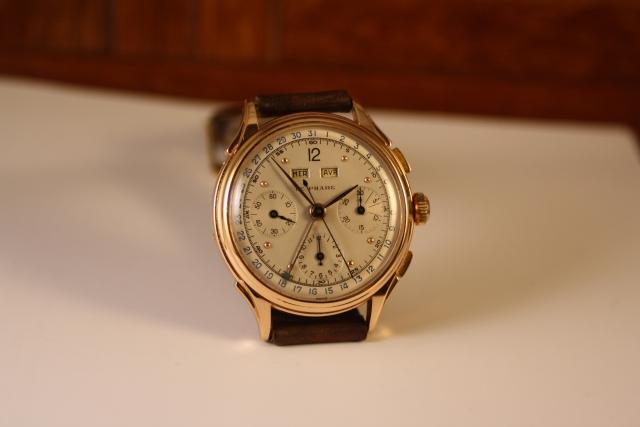 le phare enamel dial chronograph